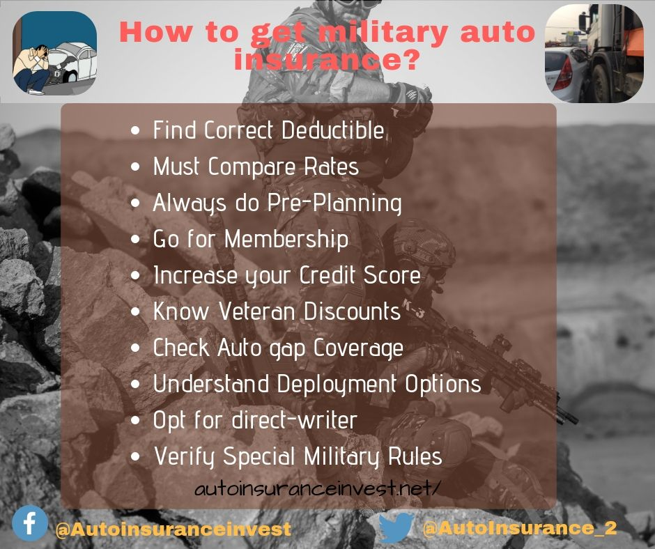 How To Get Military Auto Insurance Car Insurance Auto