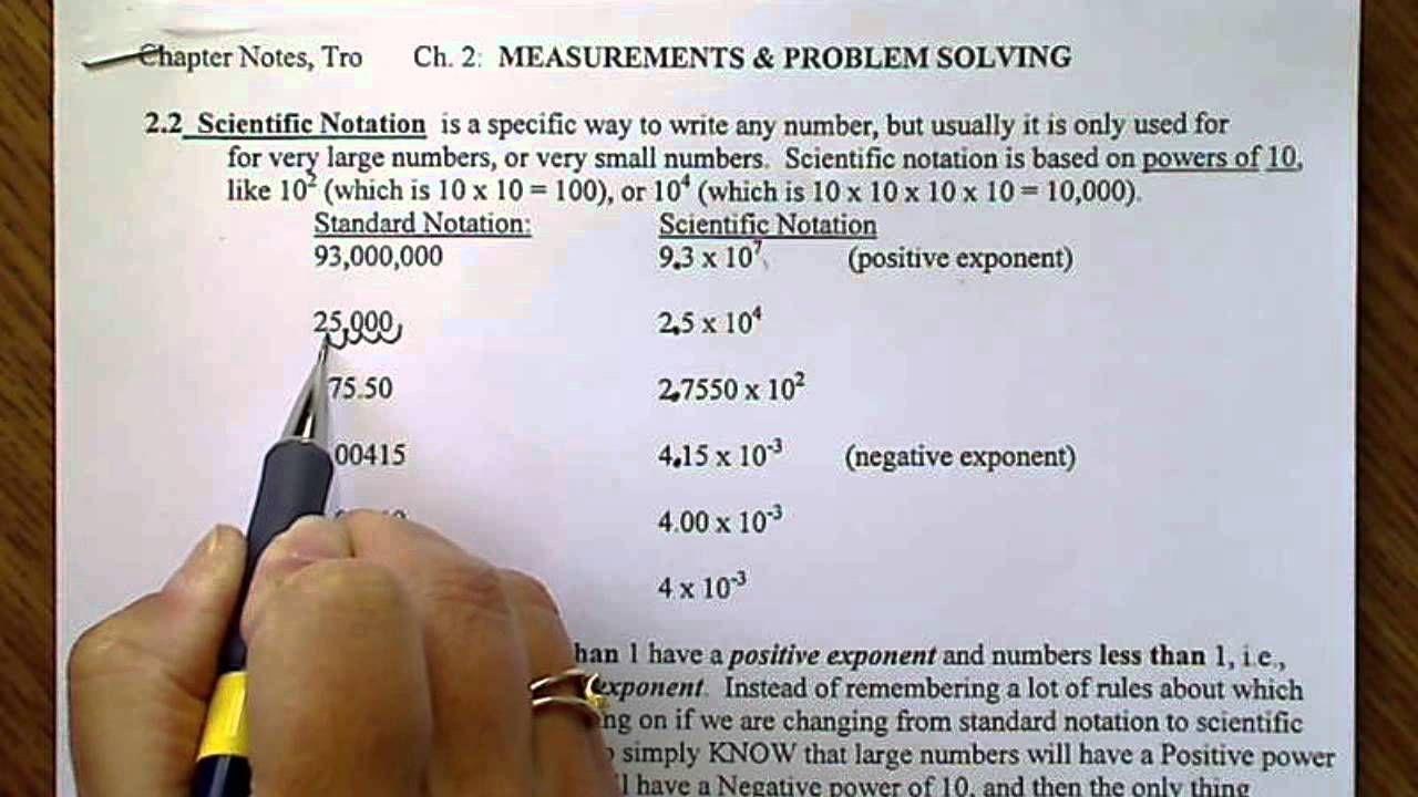 Scientific Notation Positive Or Negative Exponents Scientific Notation Negative Exponents Notations [ 720 x 1280 Pixel ]