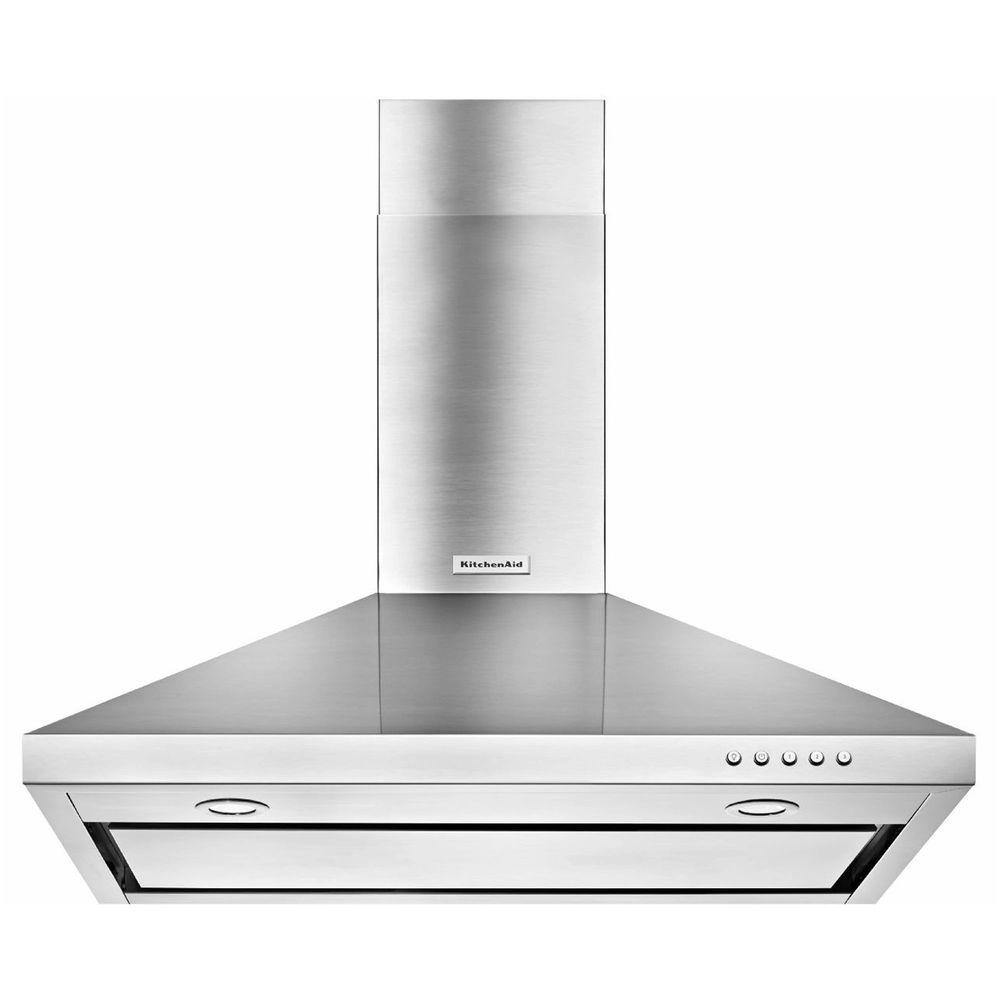 KitchenAid 30 in. Convertible Wall Mount Range Hood in
