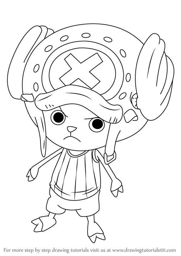 Learn How To Draw Tony Tony Chopper From One Piece One Piece Step