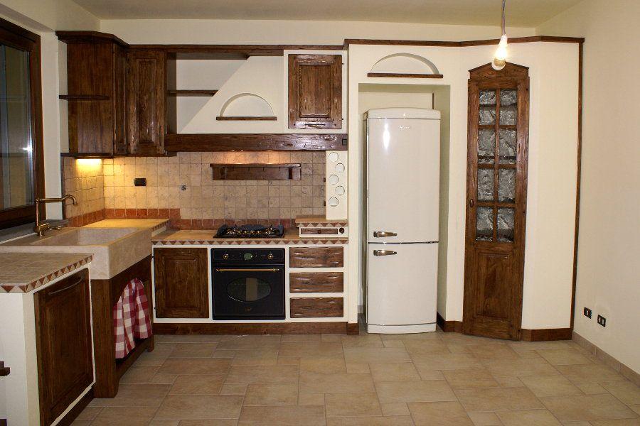 Cucina in finta muratura (PP-CFM028) | Cucina in muratura ...