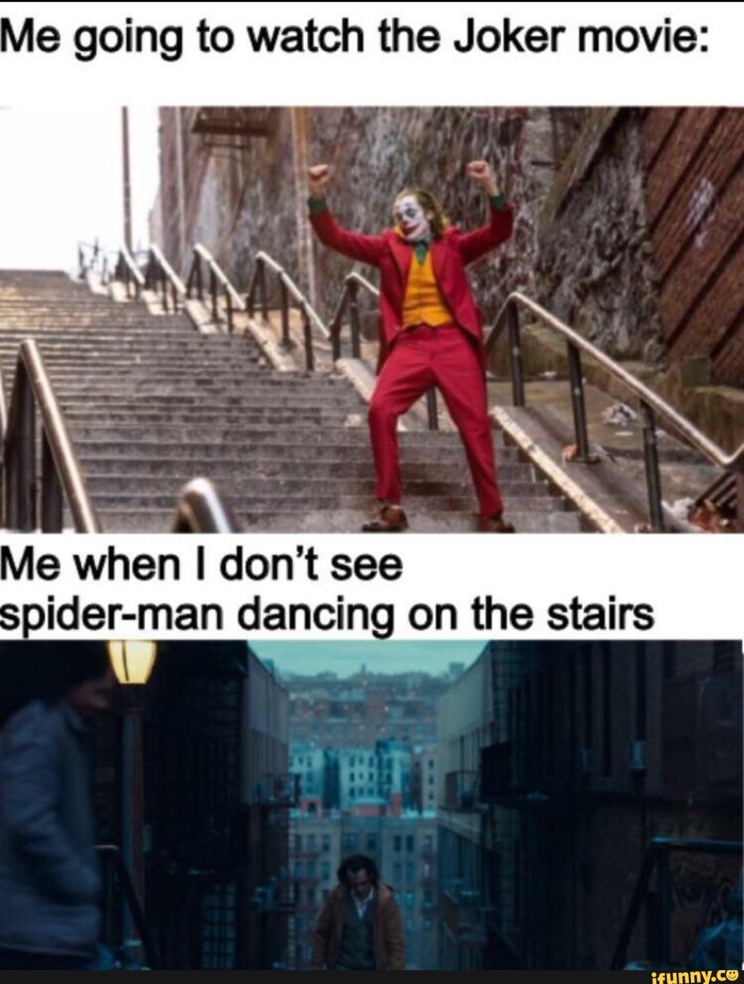 Joker Dancing Meme : joker, dancing, Going, Watch, Joker, Movie:, Don't, Oider-man, Dancing, Stairs, IFunny, Funny, Batman, Memes,, Joker,, Video, Memes