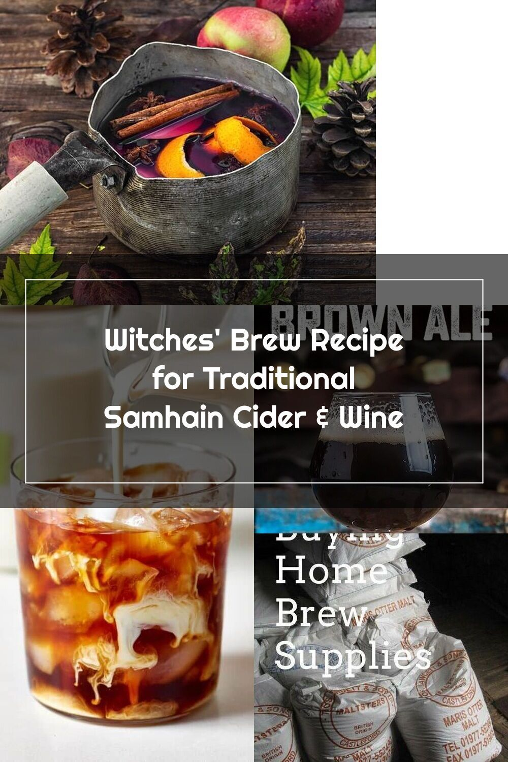 Witches Brew Recipe For Traditional Samhain Cider Wine Upon The Coming In 2020 Witch Brew Recipe Cider Home Brew Supplies