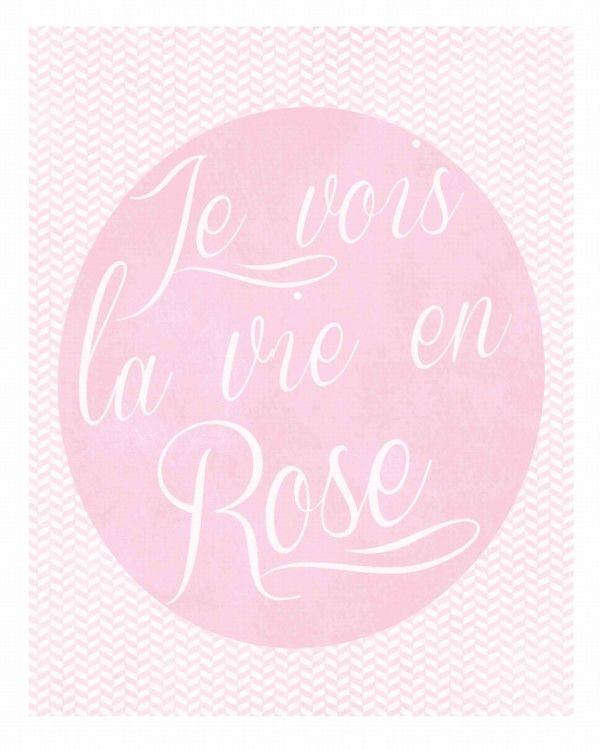 1 la vie en rose