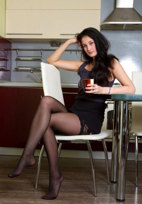 Amateur Teen Stockings Solo
