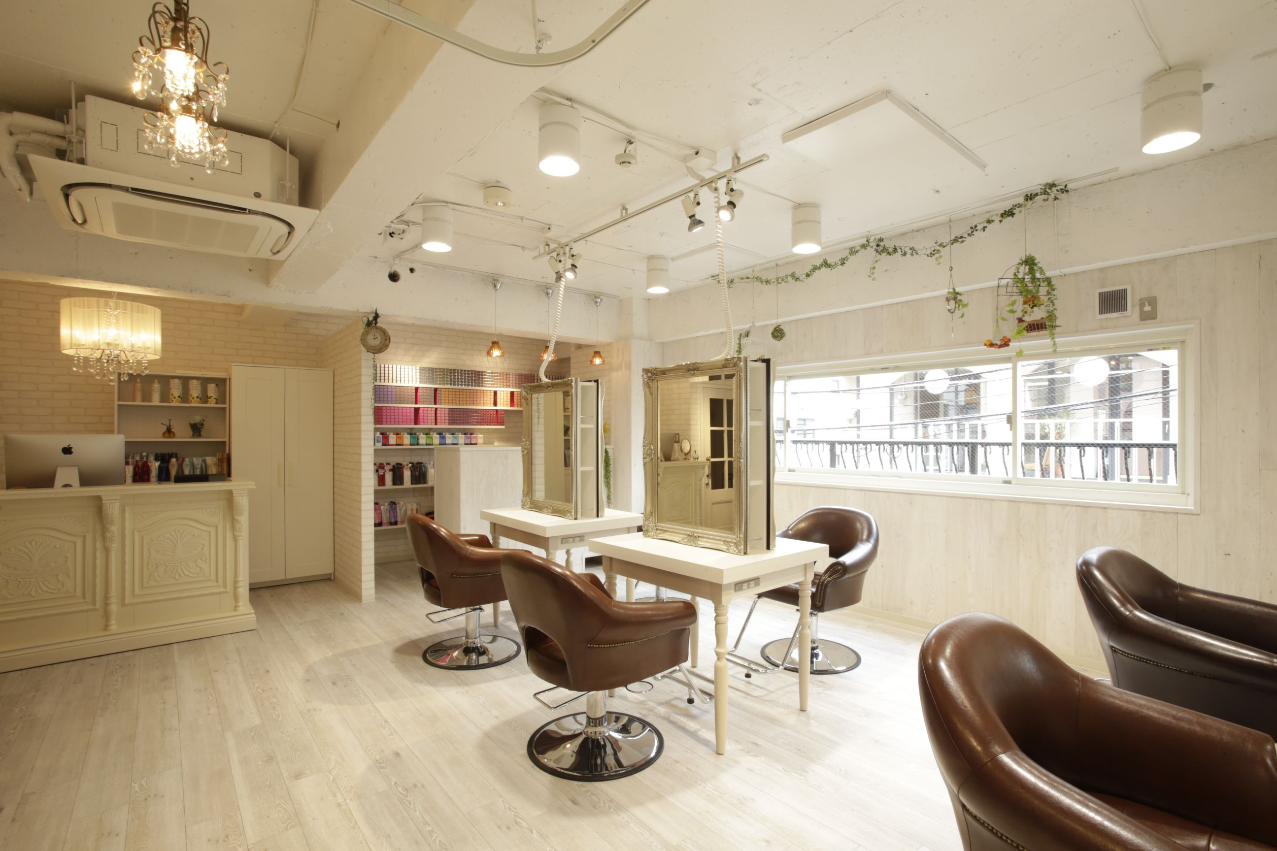 beauty salon interior design ideas hair space decor japan antique