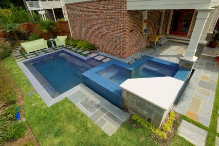 pool for small back yard Artistic Pools, Atlanta, GA | Yard | Luxury ...