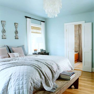 Bedroom Blues Blue Is The Most Common Color Probably Because Of It S Soothing Quality And Eal To Both Es Make Work For You Choose A