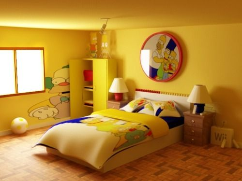 Simpsons Bedroom By Dezin Speed Modeling Contest Got The