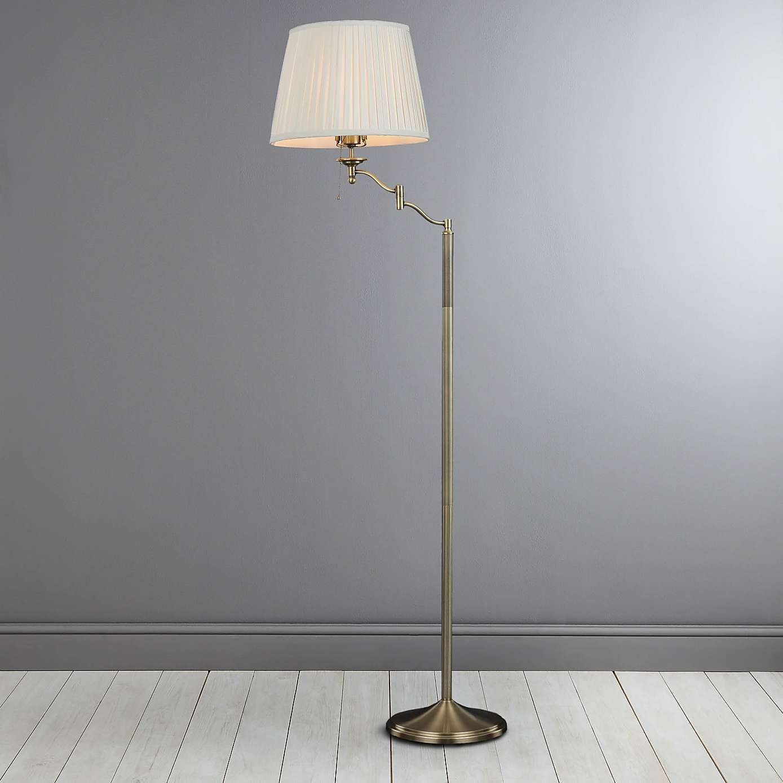 Dorma Elmbridge Swing Arm Floor Lamp In 2019 Swing Arm