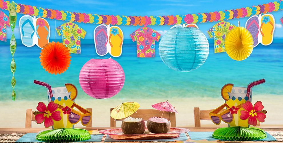 Summer Theme Party Decorations Beach