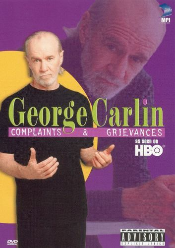 George Carlin Complaints Grievances Dvd 2001 Best Buy George Carlin Comedy Specials Video On Demand