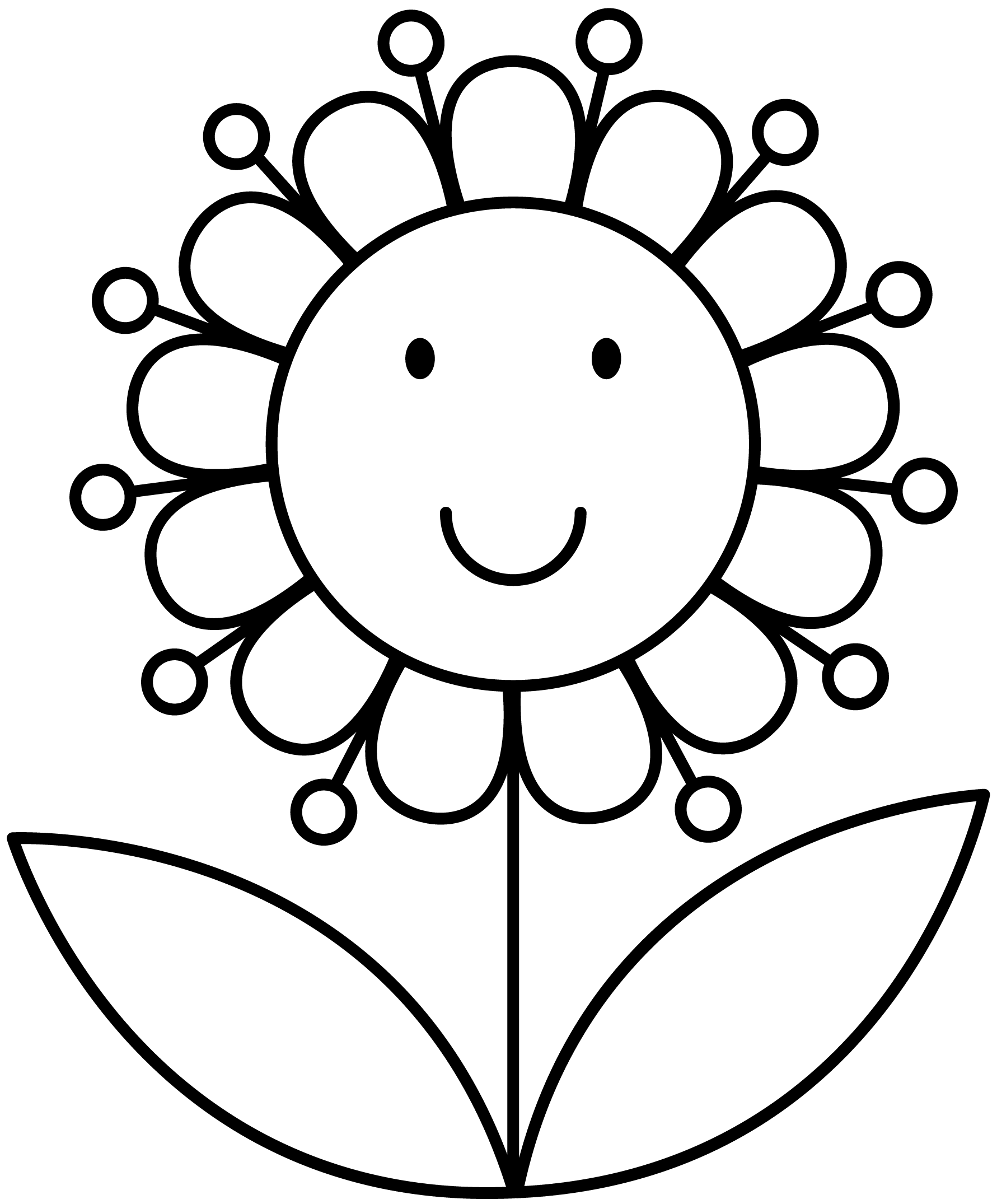 Flower Flower Coloring Pages Spring Coloring Pages Coloring Pages