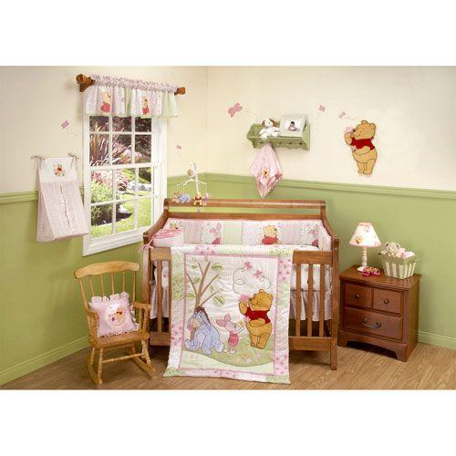 Baby girl winnie the pooh nursery thenurseries for Winnie the pooh bedroom designs