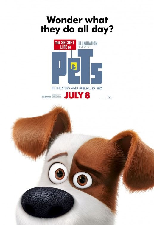 The Secret Life of Pets (2016) Movies IMDB Pinterest Secret - pet poster