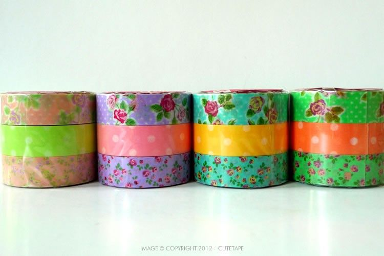 Rose Dots Washi Tape $12.00 Oh the wonderful things you could do !