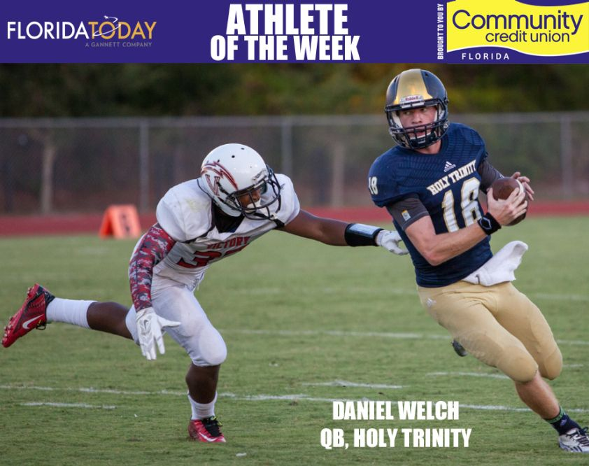 Holy Trinity's Daniel Welch wins Athlete of the Week