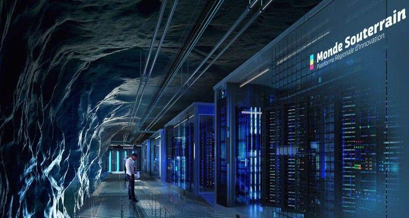 La région de Saumur teste des « data centers » dans ses souterrains