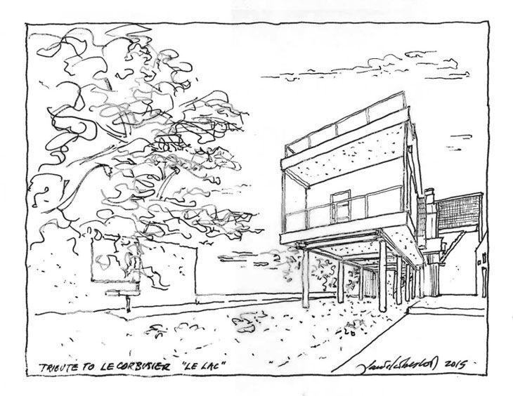 Mimarlar Le Corbusier'yi Yeniden Yorumladılar: Daniel Libeskind