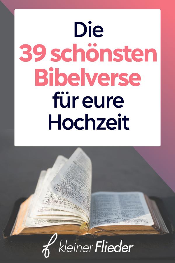 Bibel hochzeitsspruch