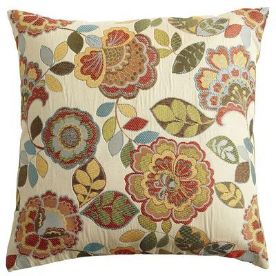 Super Floral Garden Pillow From Pier I Living Room Is Knotty Pabps2019 Chair Design Images Pabps2019Com