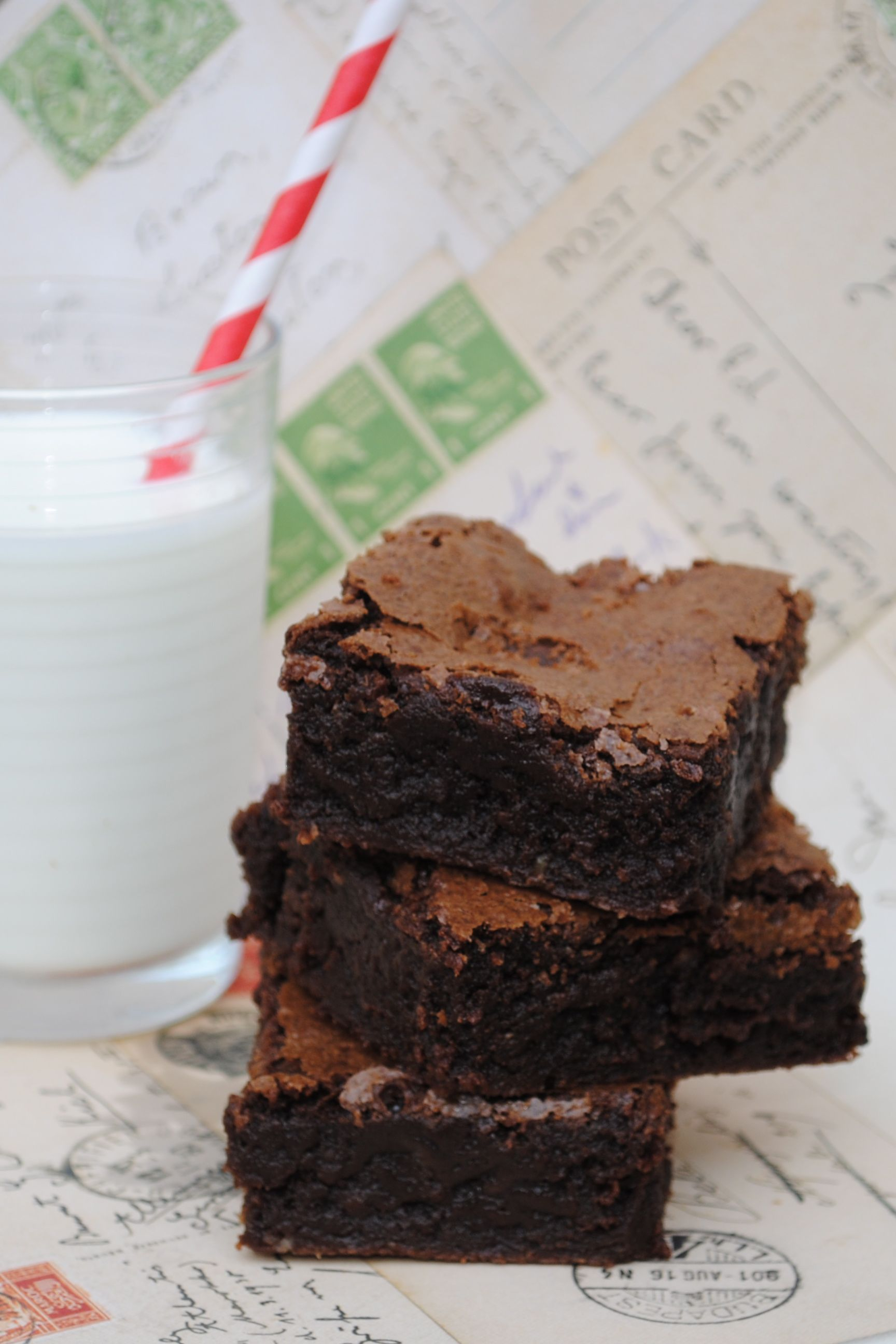 Julia Child's Best-Ever Brownies... the perfect combination of cakey and chewy.  These are amazing!
