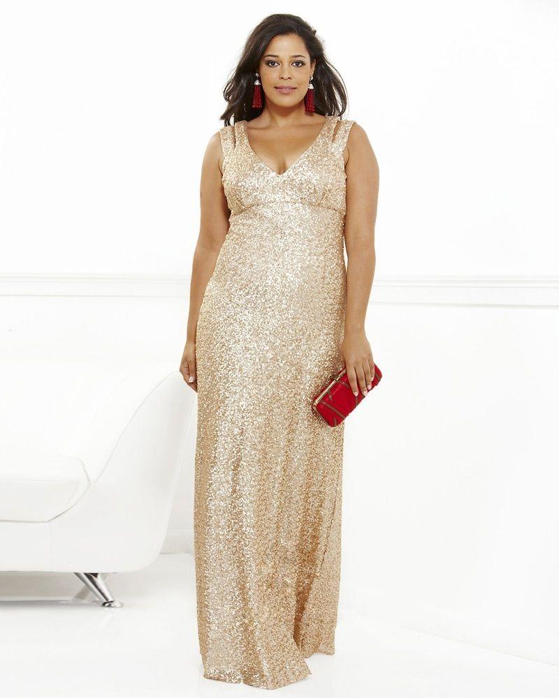 0b563b97266 osell wholesale dropship V Neck Sleeveless Sequins Cloth Satin Floor Length  A Line Evening Dress  106.27