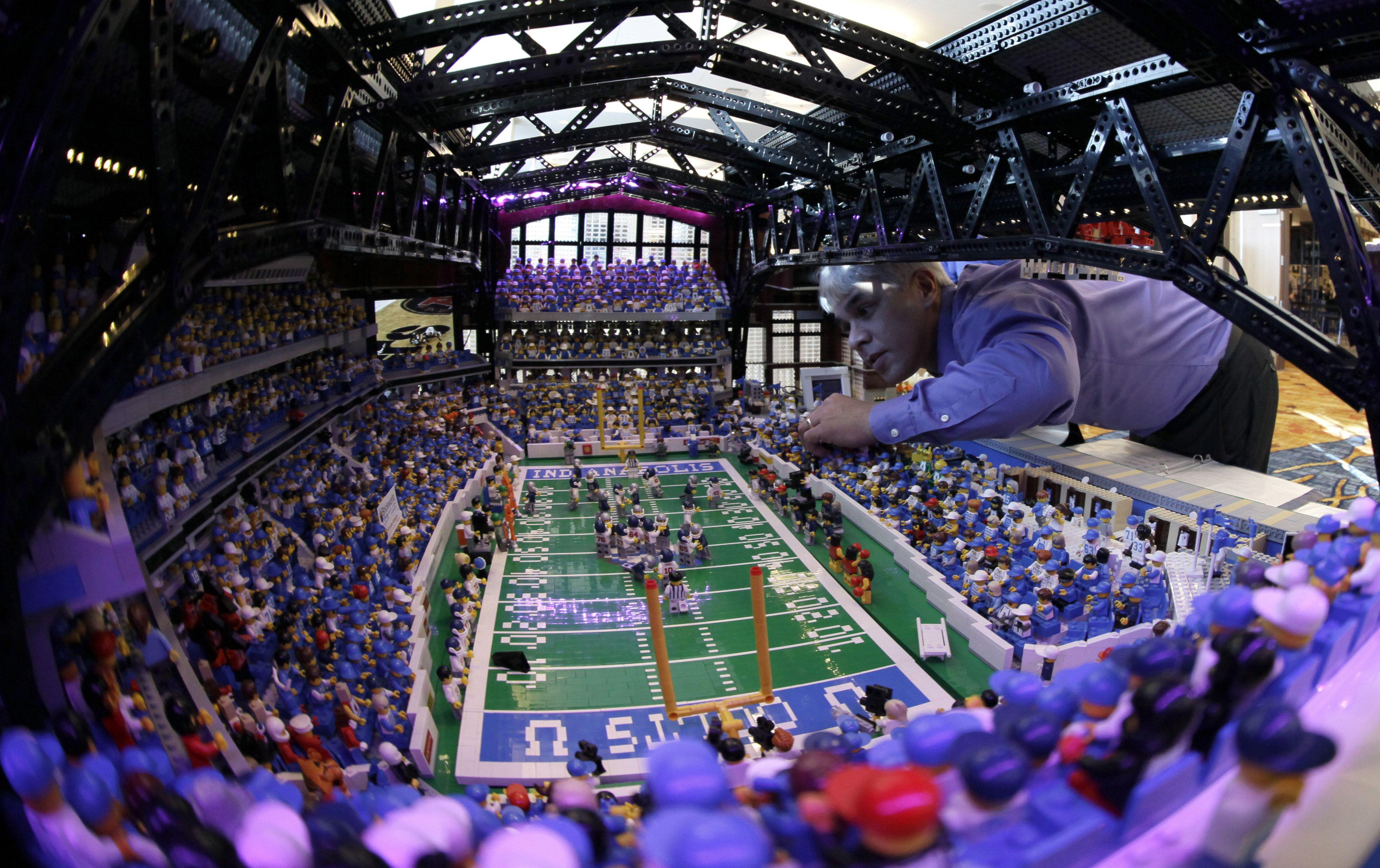 Super Bowl XLVI Indianapolis Lucas Oil stadium