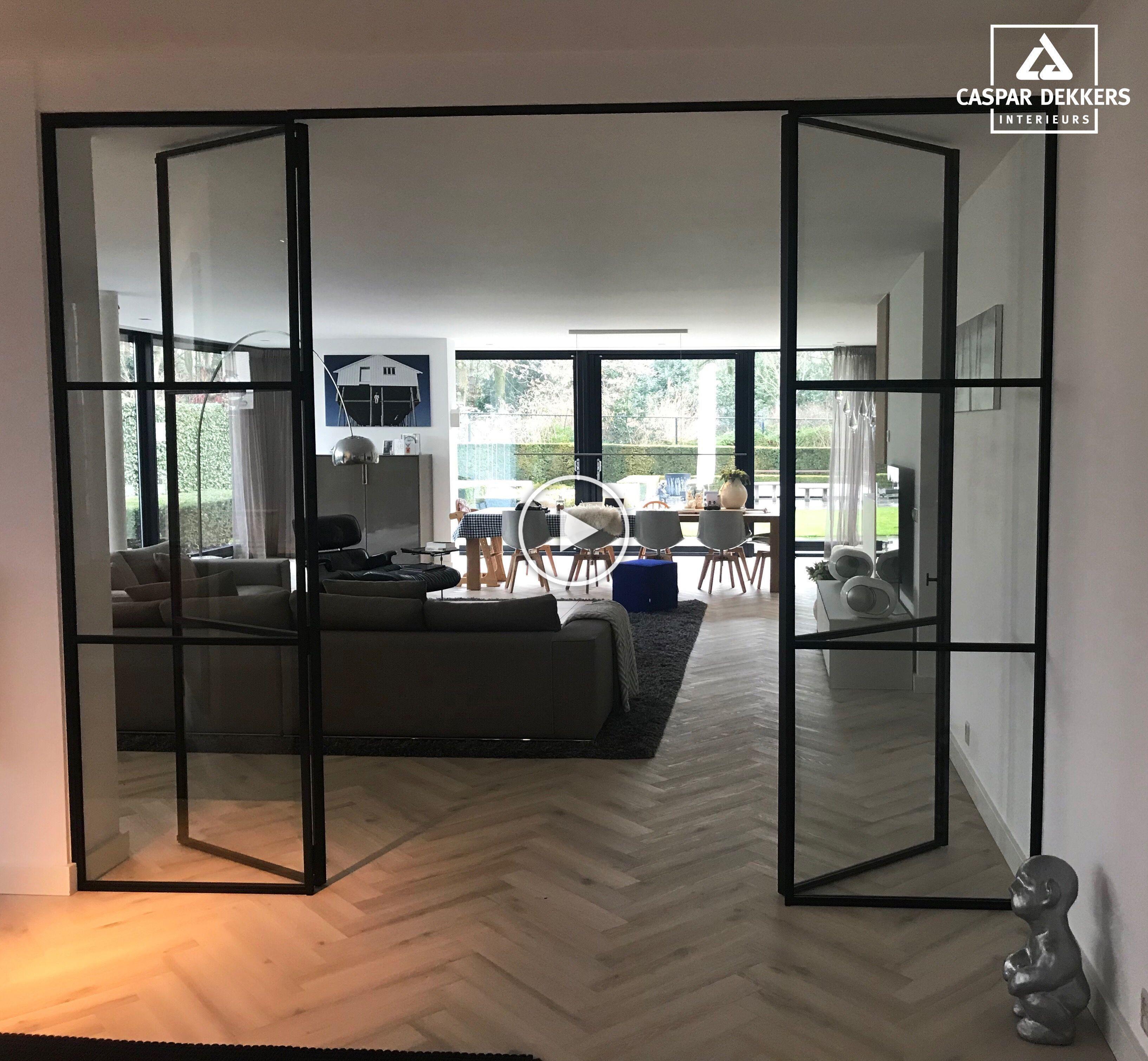 Recently installed a PVC herringbone floor from Tarkett Nederland …