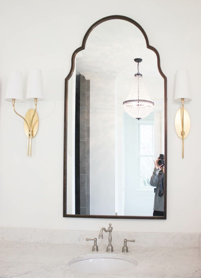 Photo of Think outside the box when mixing metal surfaces in your bathroom: #bathroomideas …