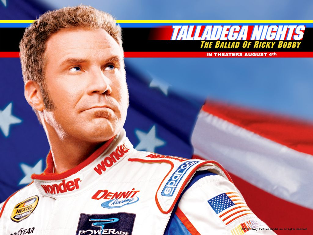 Talladega Nights One Of My Favorite Wf Movies Ricky Bobby Funny Movies Talladega Nights