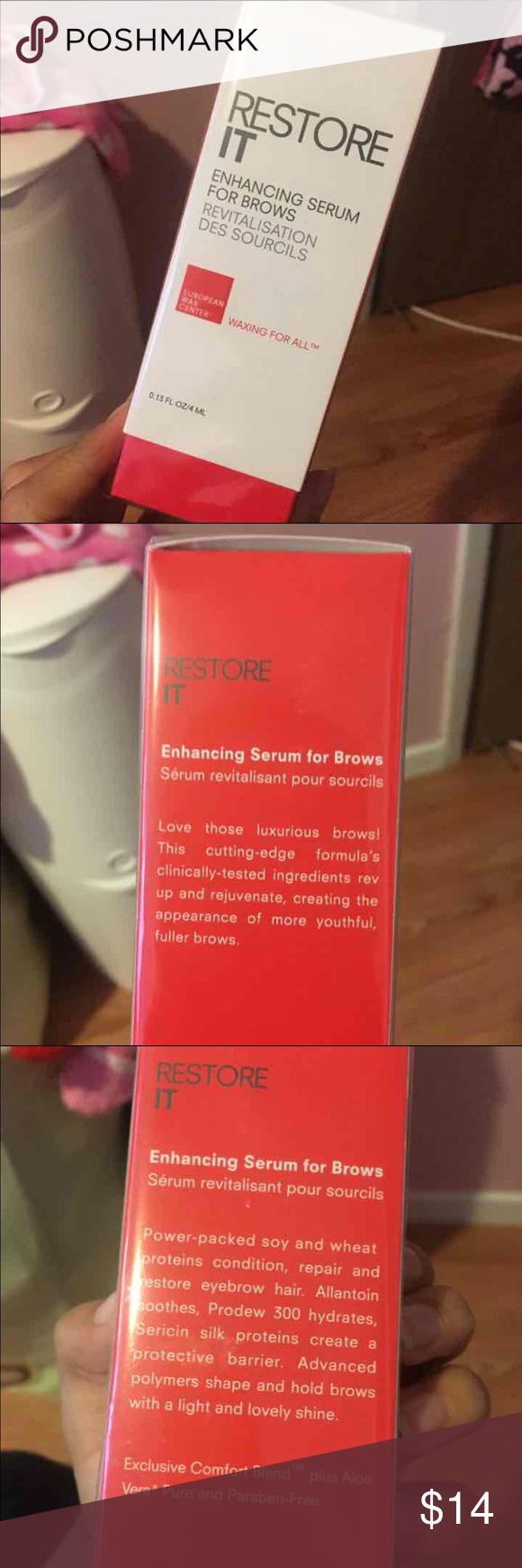 Brow Serum European Wax Center Restore it enhancing serum for brows Sephora Makeup