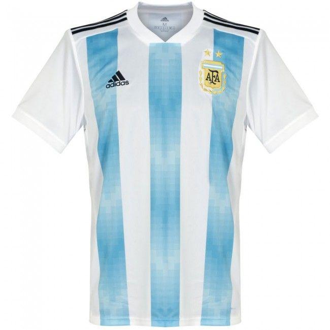 Camiseta de Argentina 2018-2019 Local  argentina  shirt  remera ... 94274edc16559