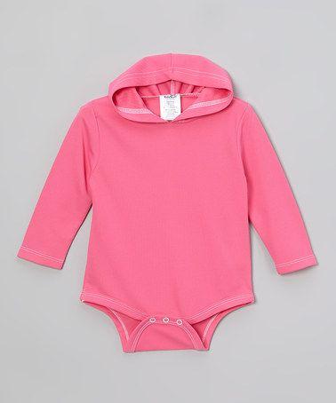 Love this Pink Sun-Blocker™ Romper - Infant by Kidz Stuff on #zulily! #zulilyfinds  UPF 40 $12.99  18-24mth