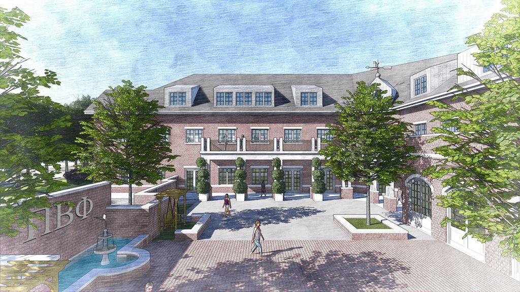 Arkansas Pi Phi Building Courtyard Pi Beta Phi Pinterest. Marvellous  Arkansas House Plans ...