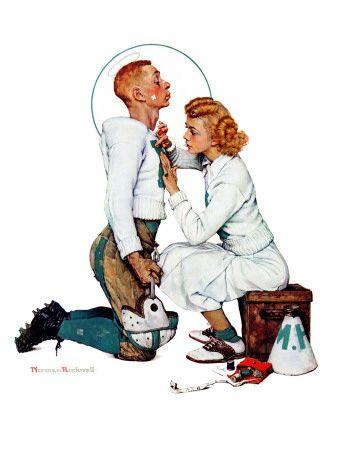 """""""Letter Sweater"""" (boy & girl), Nov. 19, 1938"""
