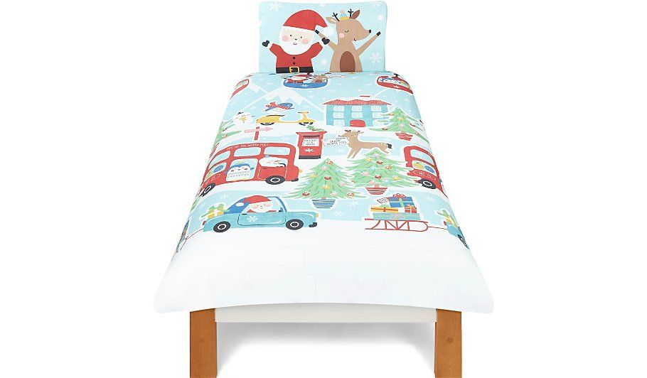 Give their bedroom some festive fun with this christmas