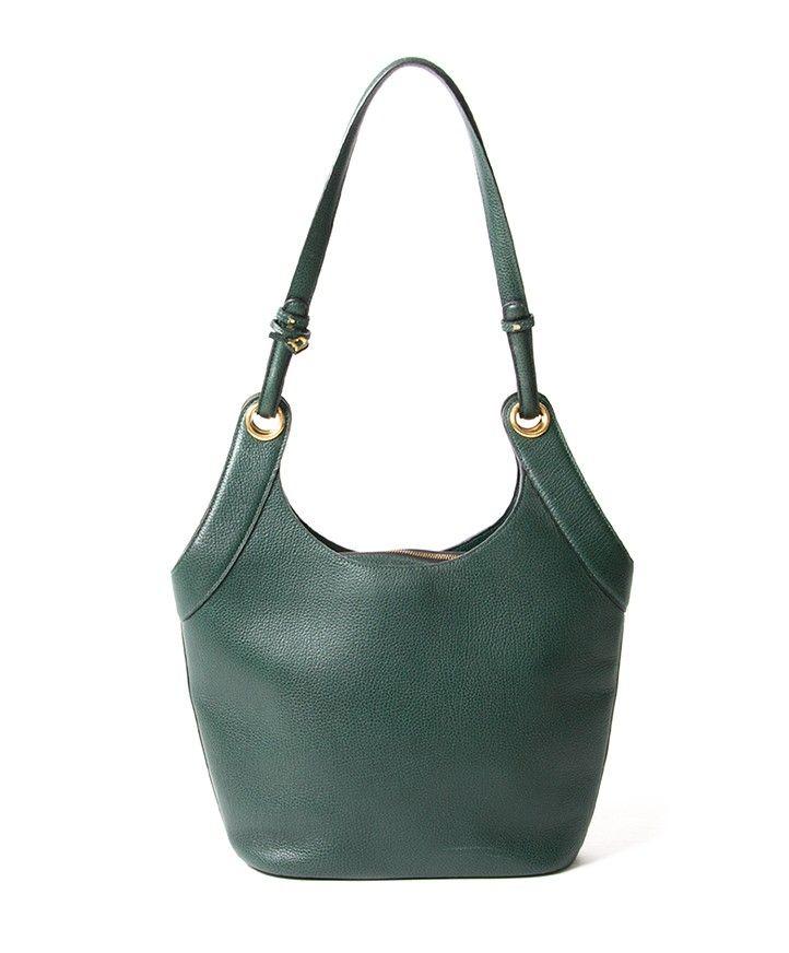05646632720 Delvaux Green Shoulder Bag veilig online shoppen webshop Antwerpen België  LabelLOV designer merken luxemerken luxetassen tassen handtassen mode stijl