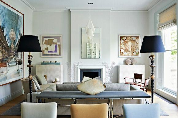 23 Modern British Interiors 1stdibs Design Salon London Living Room Interior