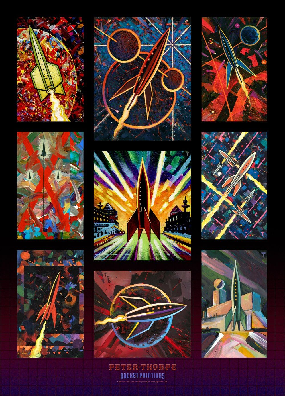 Zazzle poster design - Here Is A New Rocket Paintings Poster That I Ve Done For My Peter