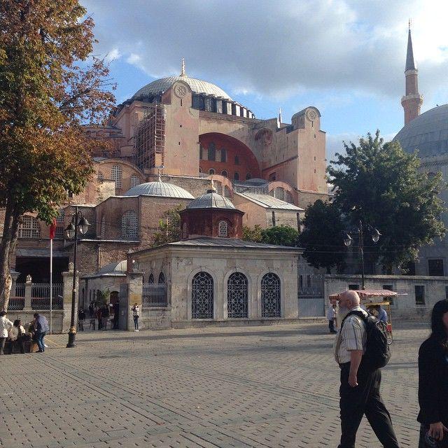 ايا صوفيا متحف جامع اسطنبول تركيا