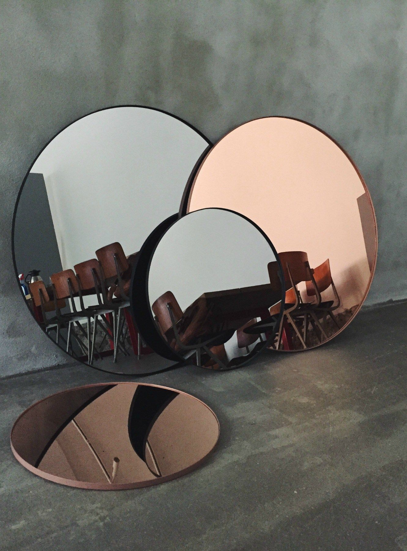 A Glamourous Touch To Your Home With Aytm With Images Tinted Mirror Copper And Grey Mirror Decor