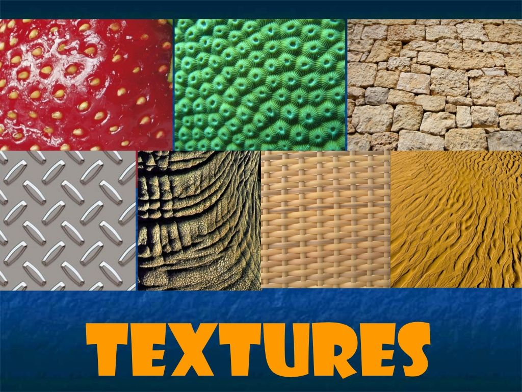 Textures By Rosa Urgell Via Slideshare