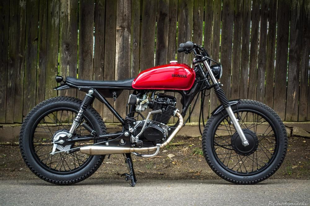 honda cg 125 scrambler cafe racer custom motorcycle etc cafe racer honda cafe racer. Black Bedroom Furniture Sets. Home Design Ideas