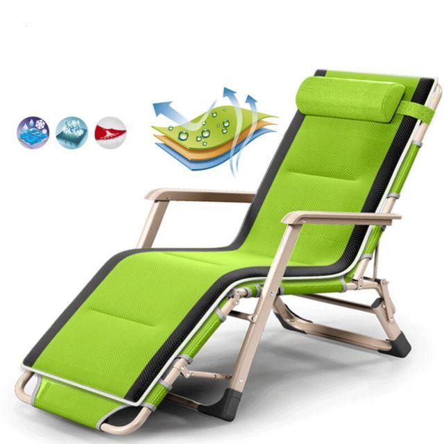 Folding Zero Gravity Chair Outdoor Picnic Camping Sunbath