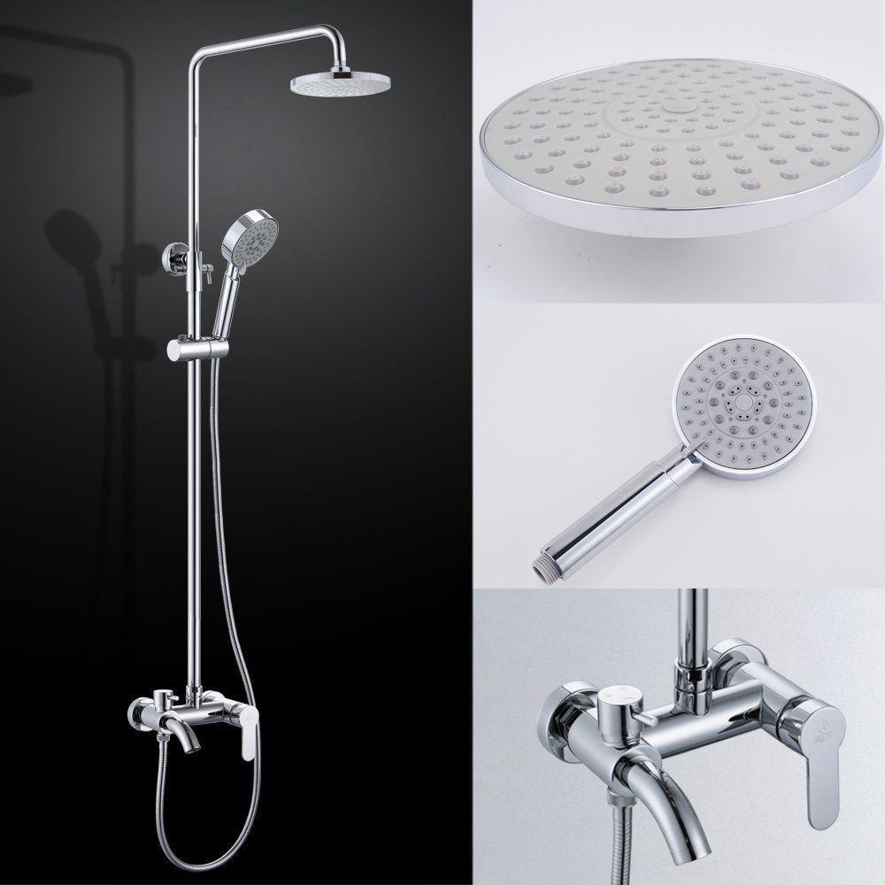 KES X664A Bathroom European Shower System Rainfall Shower Head ...