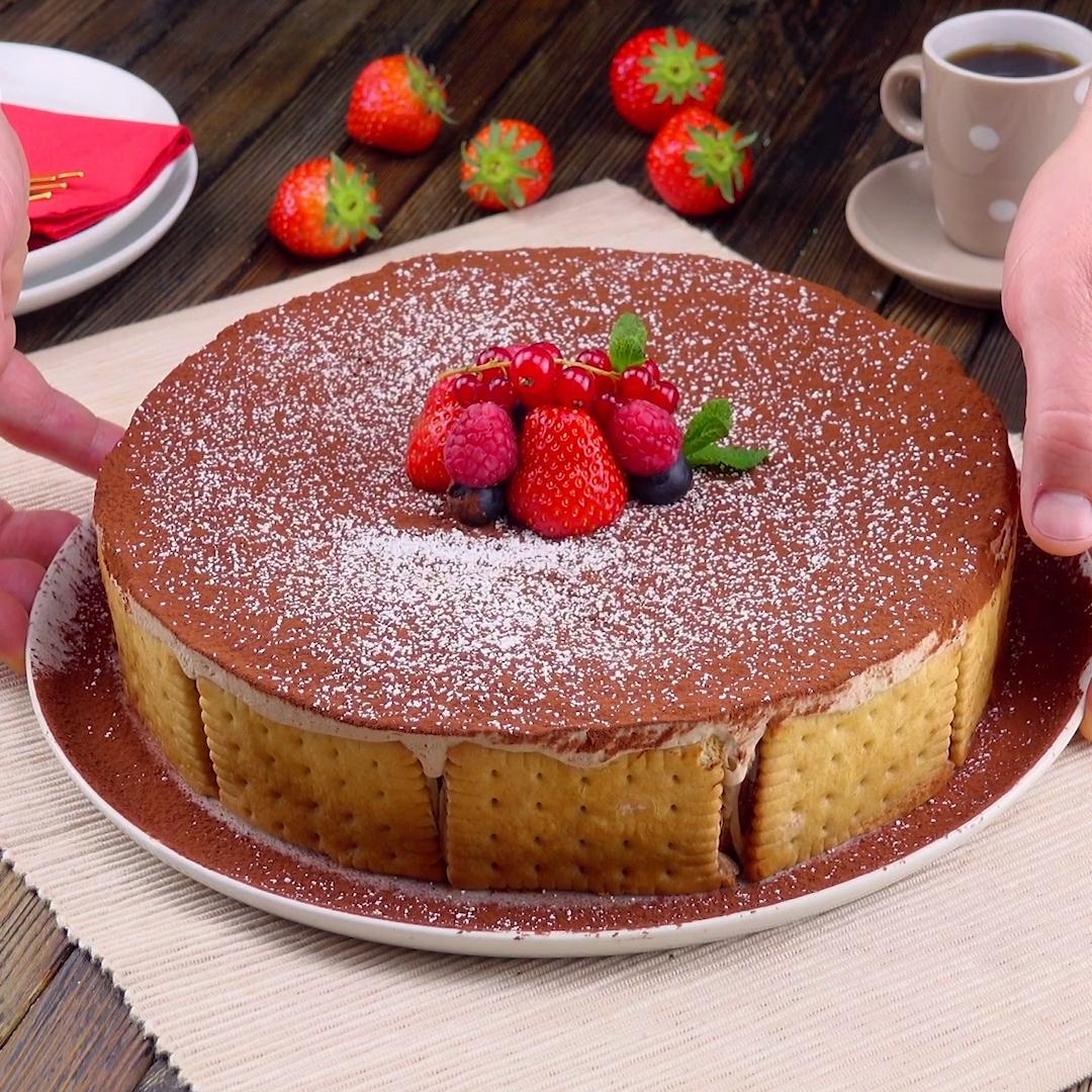 Butterkeks-Kuchen