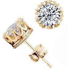 01fec03bd2a6 Resultado de imagen para aretes de oro con diamantes para hombre ...