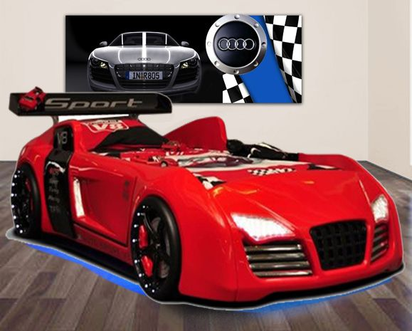 Pin By Ina Pretorius On Bedrooms Boys Car Bed Car V8 Cars