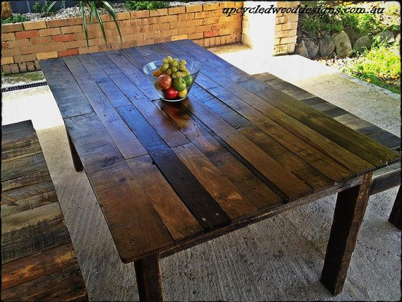 Recycled Timber Outdoor Furniture Adelaide